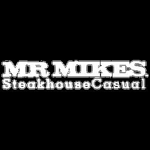 Mr Mikes logo white