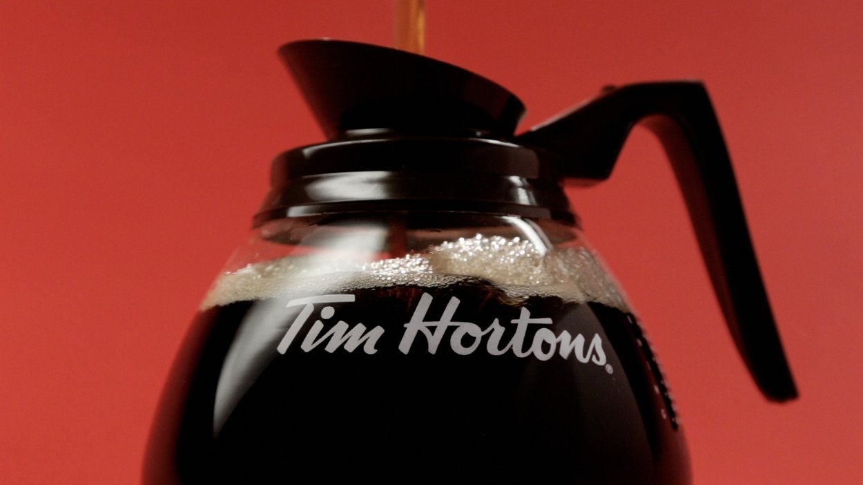 Tim Hortons - New Coffee Lid