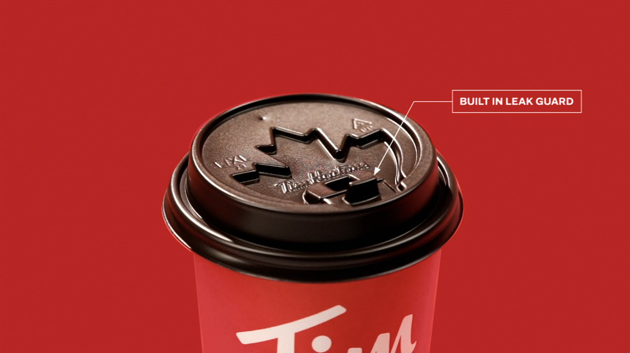 Tim Hortons Coffee Lid