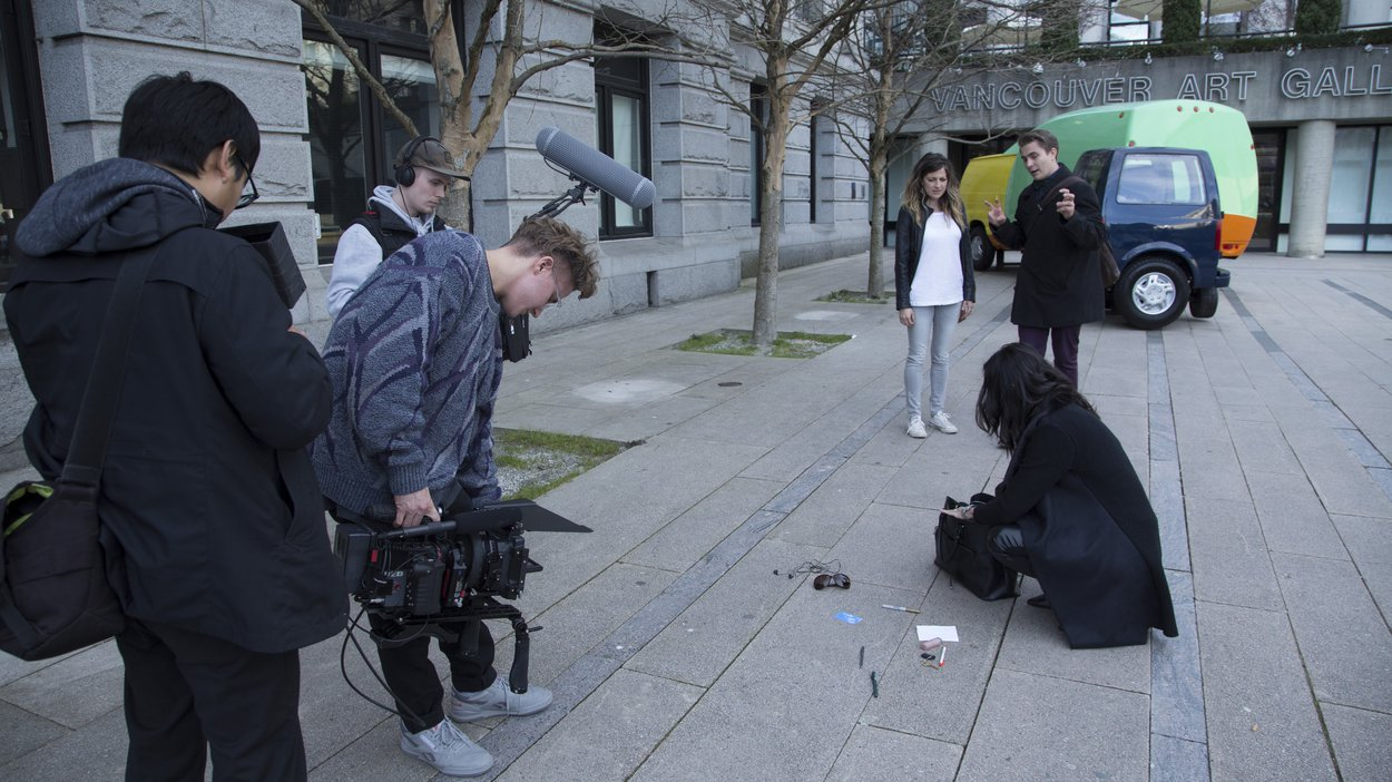 We captured scenes all around the Vancouver area to stitch together multiple stories.
