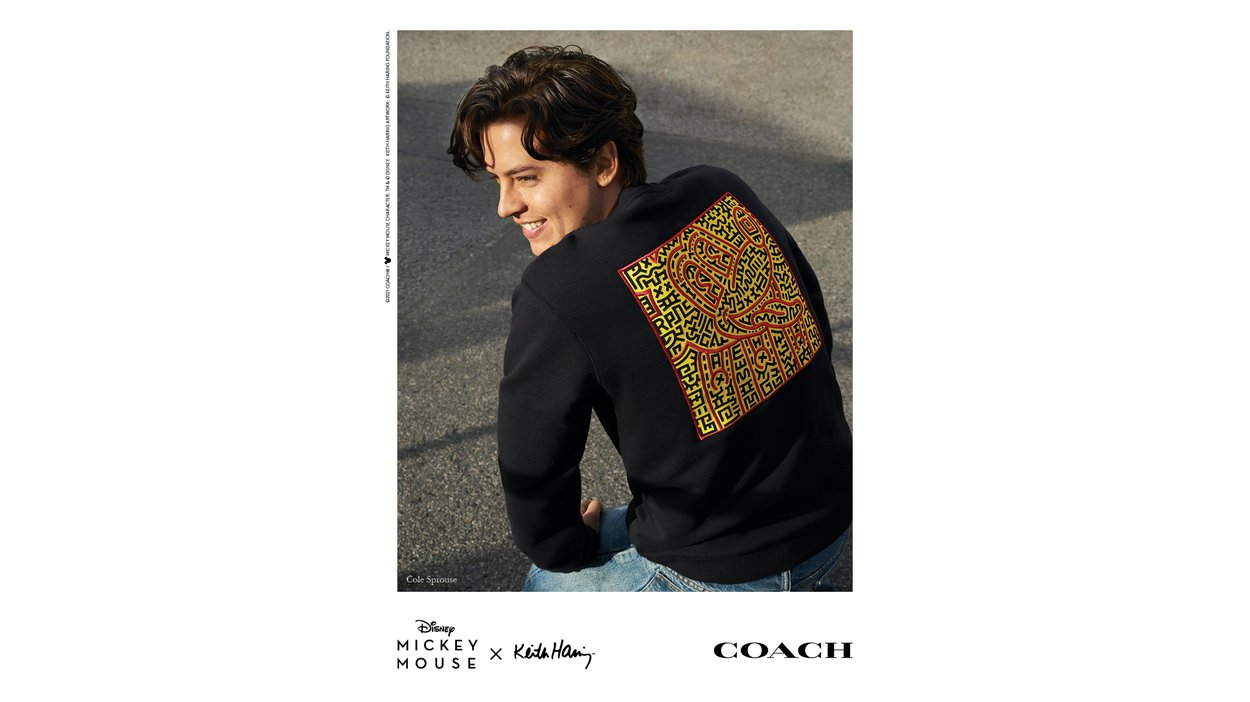 Cole Sprouse by Alessandro Simonetti for Coach