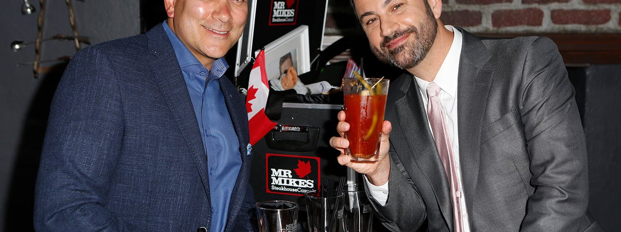 The project worked! Jimmy actually drank a caesar on Canada Day!