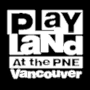 Playland logo white