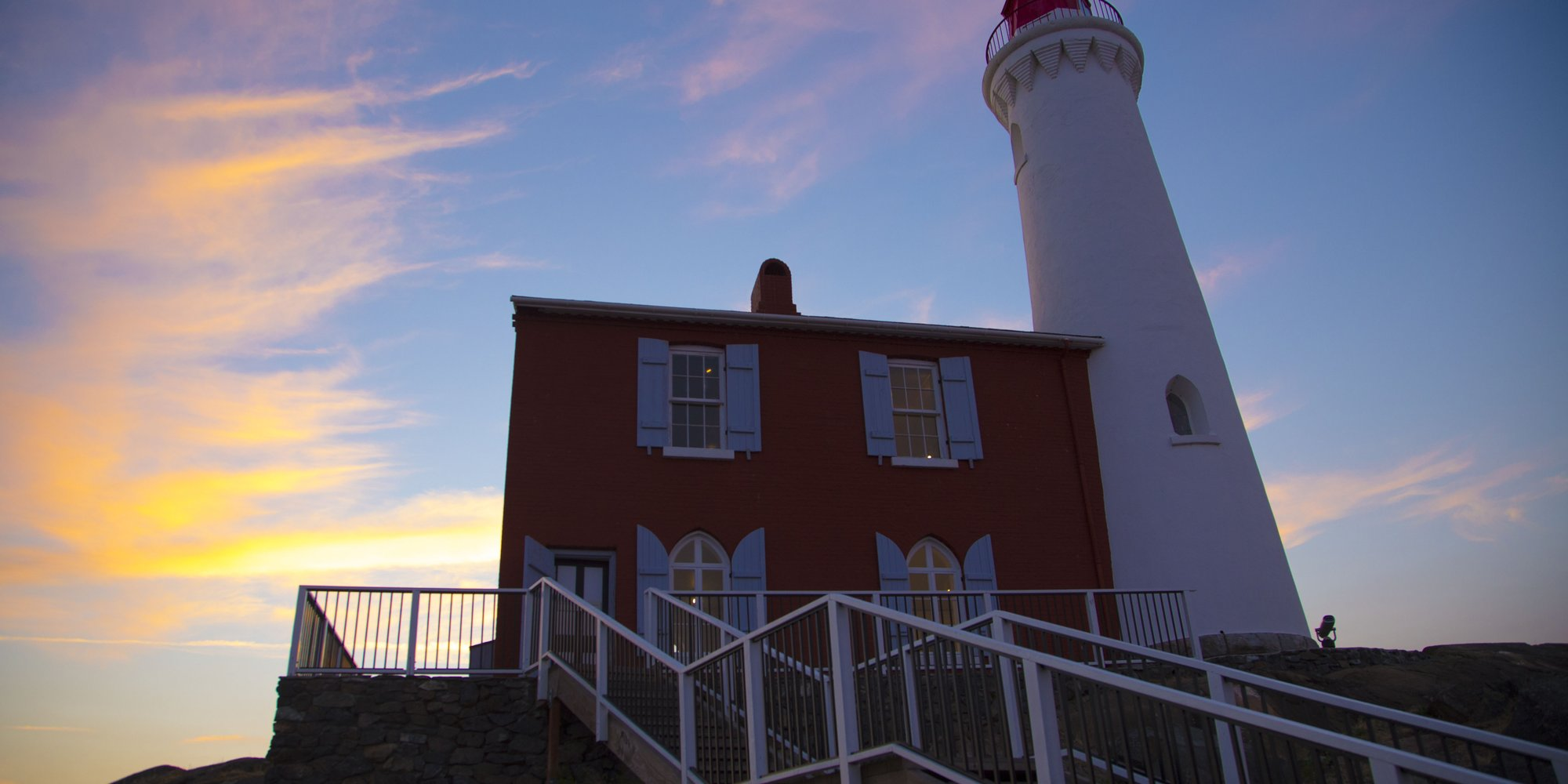 Incredible Fisgard Lighthouse, no other words necessary.