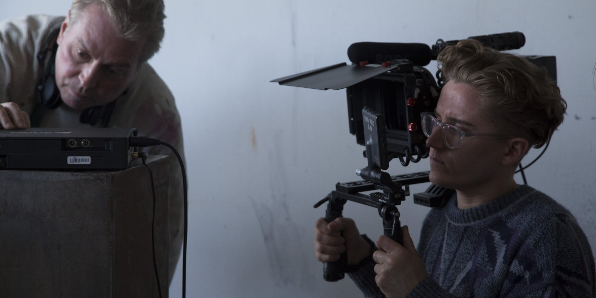 Our DP Jeremy was a trooper and operated on this run-and-gun shoot.