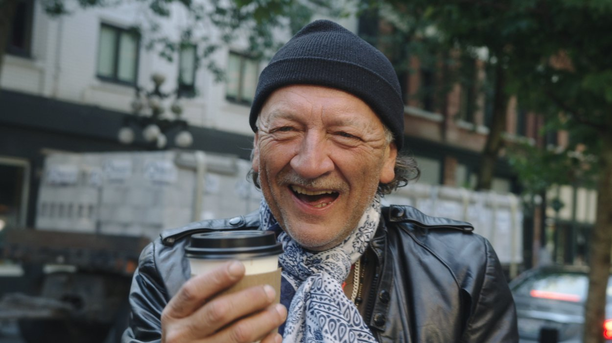 Mike Ayley bought coffee for people in the DTES