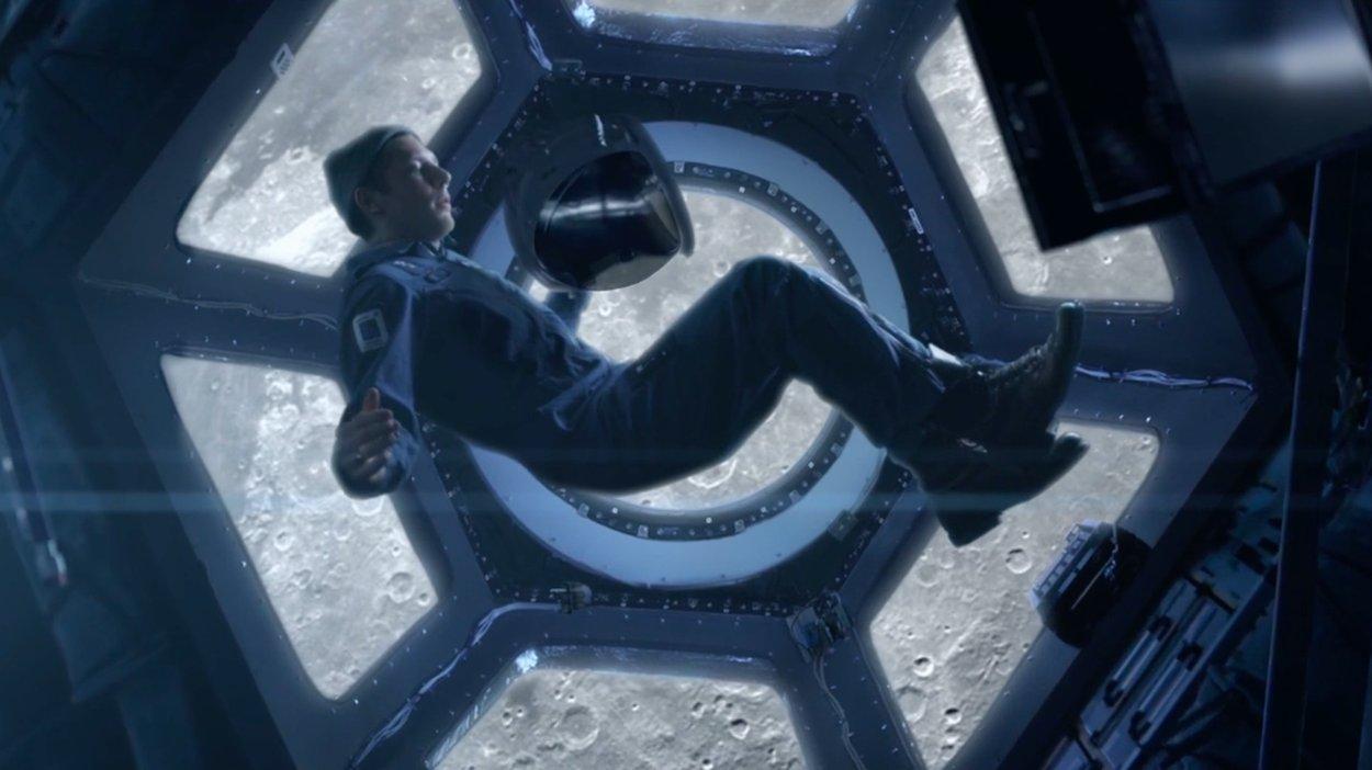 Tom MacDonald floating in space.