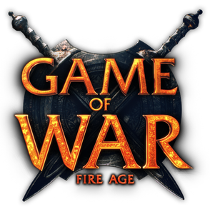 Game of War logo white