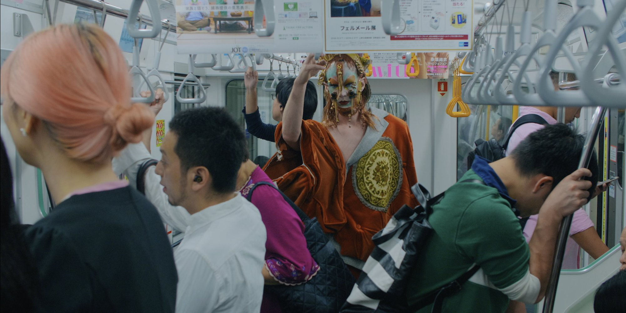 Lyle XOX in Japan Subway