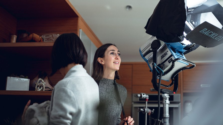 What do production companies look for in a commercial director?
