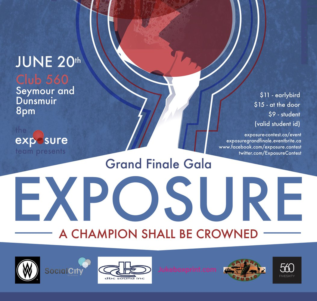 Poster for Exposure Contest, May 2013